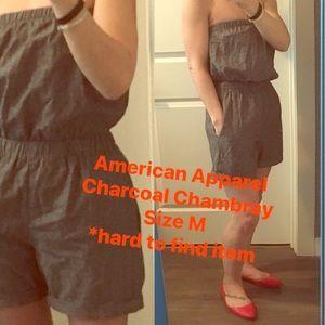 American Apparel sleeveless romper